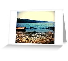 Rocky Lake  Greeting Card