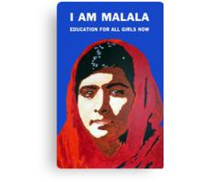 I AM MALALA Canvas Print