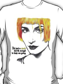 It's just a spark but it's enough to keep me going - Hayley Williams T-Shirt
