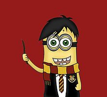 Minion Harry Potter by alwaid