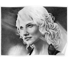 'Caprica 6' Battlestar Galactica Poster