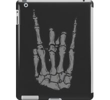 Skeleton hand | Black iPad Case/Skin