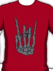 Skeleton hand | Black T-Shirt