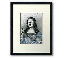 'The Da Vinci Codex' - (those who see) Framed Print