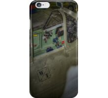 Supermarine Spitfire Cockpit iPhone Case/Skin