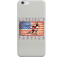 America's Pastime iPhone Case/Skin