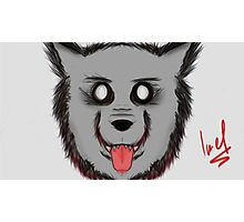 Hungry Wolfz Photographic Print