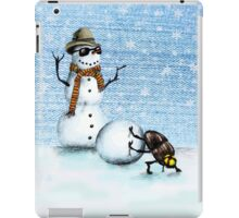 Snowman iPad Case/Skin