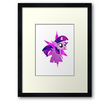 Special Destiny - Twilight Sparkle Alicorn Filly Framed Print
