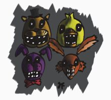 Five Nights At Freddy's by quikdraw