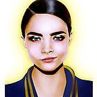 Fashion Illustration - Cara by BeckiBoos