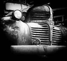 Old Dodge truck by davidpreston