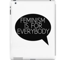 Feminism is for everybody iPad Case/Skin