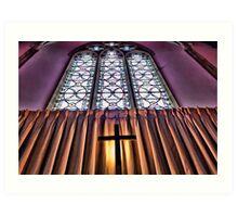 East End St Mary's Church, Kingsclere Art Print