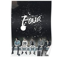 ONE DIRECTION - FOUR - ART Poster