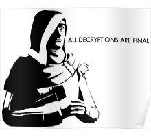 All Decryptions Are Final Poster
