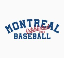 Montreal Baseball Kids Clothes