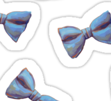 Scattered Bow Ties Sticker