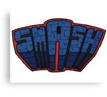 // SmAsh // Don't Stop Superheroes // Ashton // Canvas Print