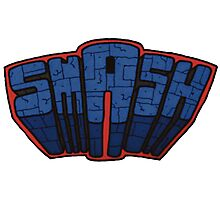 // SmAsh // Don't Stop Superheroes // Ashton // Photographic Print