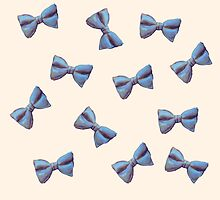 Scattered Bow Ties by Megan  Koth