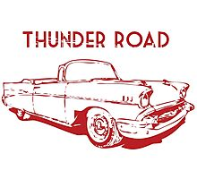 Thunder Road Photographic Print