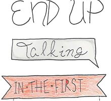 How did we end up end talking by o-my-morgan