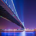 Ben Franklin Bridge - Philadelphia, PA  by Jason Heritage