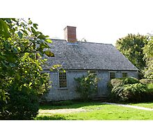 Martha's Vineyard Oldest House Photographic Print