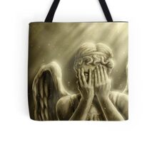 Peeping Angel Tote Bag