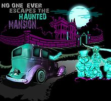 No Escaping the Haunted Mansion by Kristofer Floyd