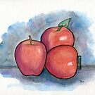 How Do You Like Them Apples? by Roz Abellera Art