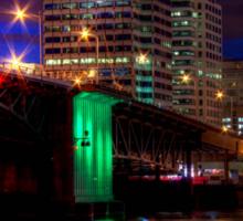 Morrison Street Bridge In Portland Two Sticker