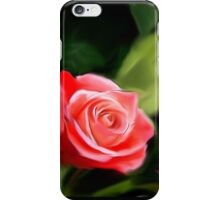 The pink rose iPhone Case/Skin