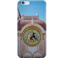 Mickey Mouse Clock iPhone Case/Skin