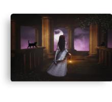 Halloween Haunting Canvas Print