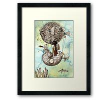 Flotilla - Claude & Blowfish Framed Print