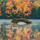 Autumn Reflections by indiabluephotos