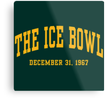 The Ice Bowl Metal Print