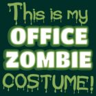 This is my office zombie costume by jazzydevil