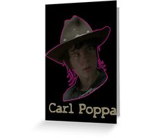 Carl Poppa Greeting Card