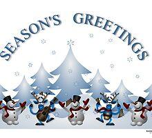 SEASON'S GREETINGS...from KRICKET KOUNTRY TEES! by Kricket-Kountry