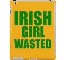 IRISH GIRL  iPad Case/Skin