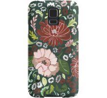 Dark Floral Tapestry Samsung Galaxy Case/Skin