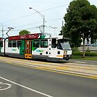 Melbourne tram by Maggie Hegarty