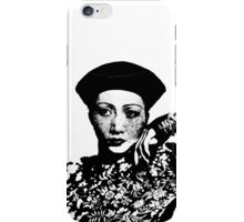Anna May Wong Has The Blues iPhone Case/Skin