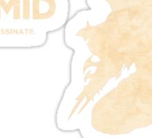Zed - The Solo Mid Sticker
