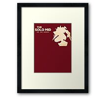 Zed - The Solo Mid Framed Print