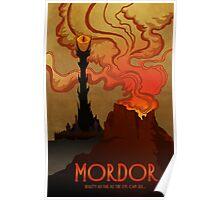 Mordor Travel Poster