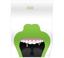 Ghostbusters Minimalist Series - Slimer Poster
